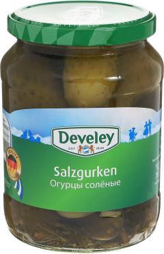 Огурцы Develey соленые
