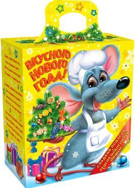 Подарочная новогодняя упаковка для сладких подарков Харменс Поваренок