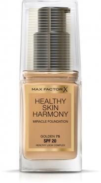 Тональный крем Max Factor Healthy Skin Harmony Miracle Foundation тон 75 golden