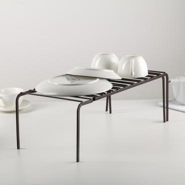 Подставка Доляна раздвижная 40,9×20,4×14,4 см., цвет чёрный