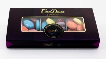 Шоколадные конфеты Choco Delicia ассорти с цедрой апельсина