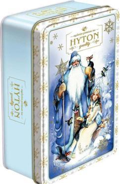 Чай Hyton Шкатулка новогодняя Морозко, черный, цейлонский