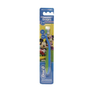 Зубная щетка Oral-B Pro Expert Stages 2 детская мягкая от 2 до 4 лет