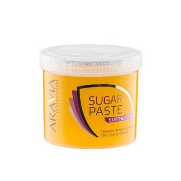 Паста Aravia professional сахарная для депиляции Мягкая и Легкая, мягкой консистенции
