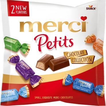 Конфеты Merci Petits Шоколадная коллекция