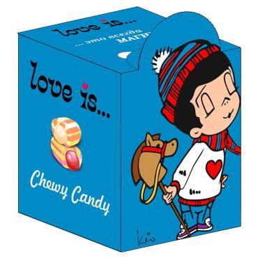 Жевательная конфета Love is…, мальчики