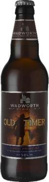 Пиво темное нефильтрованное неосветленное пастеризованное Tudor Rose Old Timer Classic Strong Ale, 500 мл., стекло
