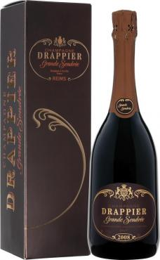 Вино белое игристое Drappier Grande Sandree Champagne Brut, 750 мл., стекло