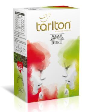 Чай Tarlton Duet черный и зеленый цейлонский