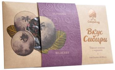 Шоколад Вкус Сибири Черника Темный