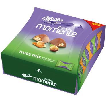 Конфеты Milka Moments Toffee, 97 гр., картон