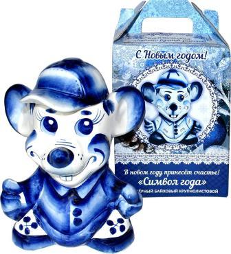 Чай листовой элитный Конфуций Собака Кобальт Люта, 50 гр., подарочная упаковка