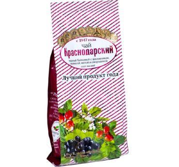 Чай черный Краснодарский С шиповником мелиссой мятой и черной смородиной