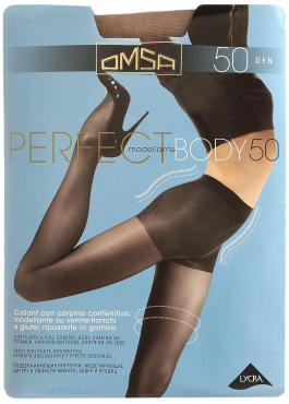 Колготки бежевый, Omsa Perfect Body, 65 гр., бумажная упаковка