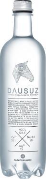Вода минеральная природная питьевая столовая газированная, Dausuz, 750 мл., Пластиковая бутылка