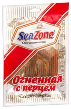 Рыбка Seazone огненная с перцем солено- сушеная