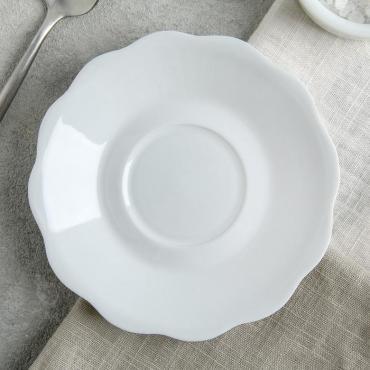 Тарелка Turon Porcelain Классика 12,5 см. белый