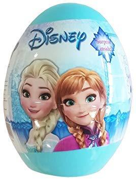 Фруктовые пастилки в пластиковом яйце с подарком, 5гр., Конфитрейд Disney Холодное сердце, обертка фольга/бумага