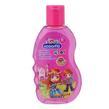 Шампунь детский от макушки до пяточек Фруктово-ягодный, Kodomo, 200 мл., пластиковая бутылка