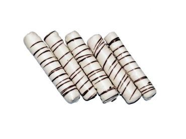 Печенье Зебра в темном/белом шоколаде, Казконд, 2.2 кг., картонный короб с прозрачным экраном