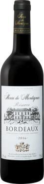 Вино красное сухое 13% Henri de Montignac, 750 мл., Стекло