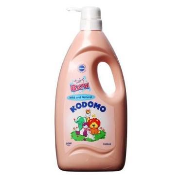 Средство для ванн Lion Kodomo детское (природная мягкость) дозатор