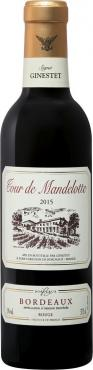 Вино красное сухое Tour de Mandelotte Bordeaux rouge, 375 мл., стекло