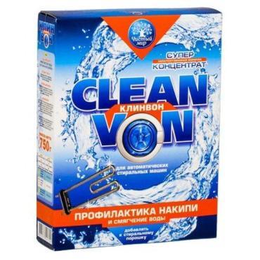 Порошок Чистый мир Clean Von для профилактики накипи