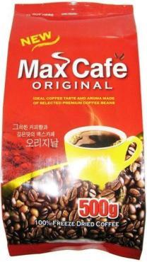 Кофе кристаллизованный Max Café Original, 500 гр., флоу-пак