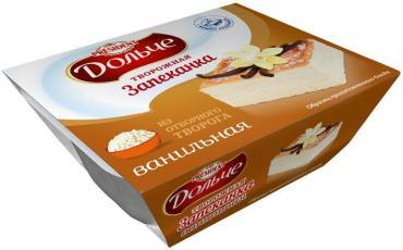 Десерт President Дольче Запеканка творожная ванильная 5,5%