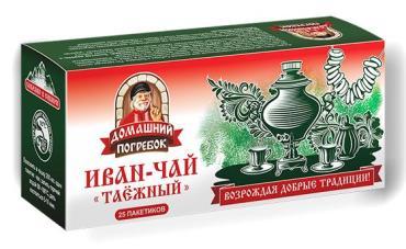 Чай Домашний погребок Иван-Чай Таежный 45 гр