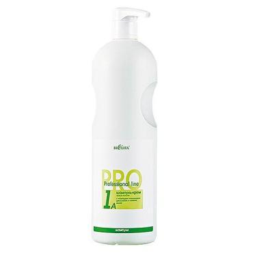 Шампунь-крем Bielita PRO Professional line Козье молоко Для слабых и ломких волос