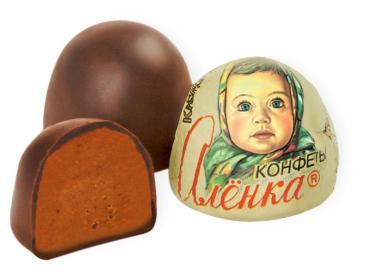 Весовые конфеты Аленка крем-брюле  7 кг
