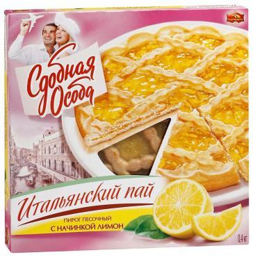 Пирог СДОБНАЯ ОСОБА Итальянский пай с начинкой лимон
