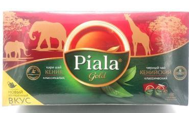 Чай Пиала Gold Кенийский черный 100 пак.