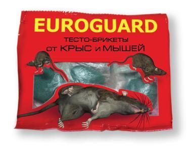 Средство от грызунов Euroguard Тесто-брикеты от крыс и мышей