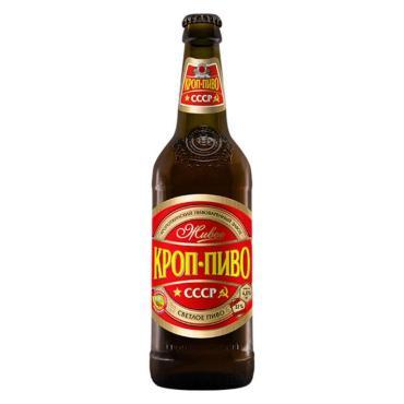 Пиво Кроп-пиво СССР светлое 4,0%/11,0% разливное