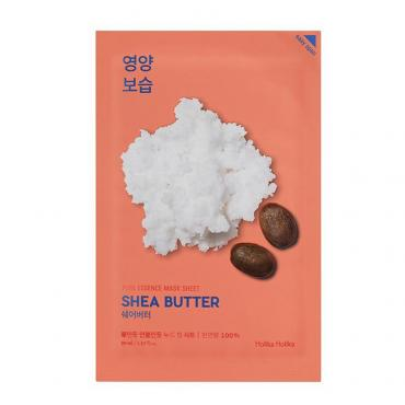 Маска Holika Holika для лица тканевая Pure Essence Mask Sheet Shea Butter с маслом ши Пьюр Эссенс
