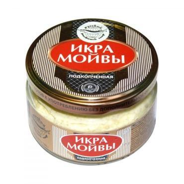 Икра мойвы классическая Русский Рыбный Мир 180 гр., стекло