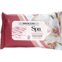 Салфетки влажные Biocos Spa aroma нежная орхидея 15 шт.