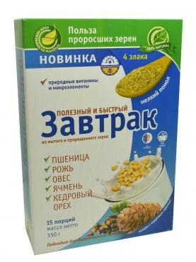 Завтрак быстрый, Талкан-Актирман, 350 гр., коробка