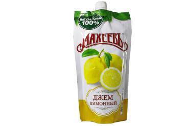 Джем Лимонный Махеевъ, 300 гр., дой-пак с дозатором