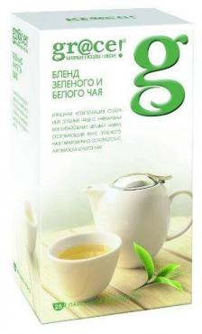 Чай Grace Бленд зеленого и белого чая 25 пак