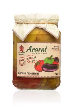 Овощи печеные, Арарат, 740 гр., стекло