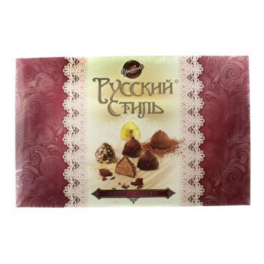 Конфеты Сормовская кондитерская фабрика Русский стиль шоколадные