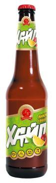 Пивной напиток Хайп со вкусом лимон-гранат фильтрованный пастеризованный