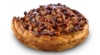 Слойка улитка Lantmännen Unibake со вкусом карамели и орехами 48 шт., Дания