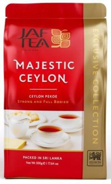 Чай JAF TEA Majestic Ceylon черный листовой, сорт Pekoe 500 гр.