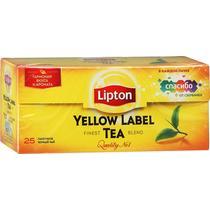 Чай черный Lipton Yellow label 25 пакетов