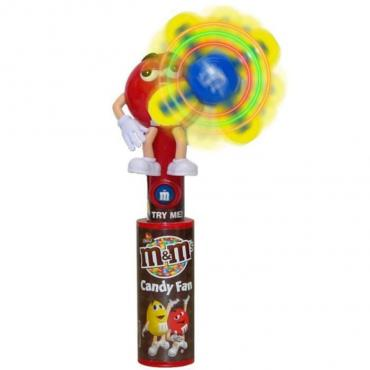 M&M's Light Up Candy Fan с игрушкой